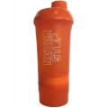 BiotechUSA Shaker Wave+ Never Stop 600 ml (+350ml) 3х компонентный