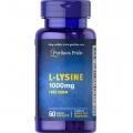 Puritans Pride L-Lysine 1000 mg 60 Caplets