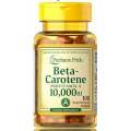 Puritan's Pride Vitamin A Beta-Carotene 10000 IU 100 Softgels