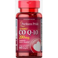 Puritans Pride Q-SORB Co Q-10 200 mg 60 cap