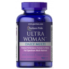 Puritans Pride Ultra Women™ Daily Multi Timed Release with Zinc 90 cap