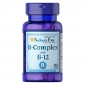 Puritans Pride Vitamin B-Complex And Vitamin B-12 180 cap