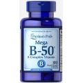 Puritans Pride Vitamin B-50 ® Complex 100 Caplets