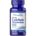 Puritans Pride Chelated Calcium Magnesium Zinc - 100 cap