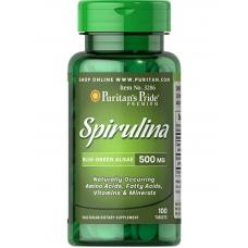 Puritan's Pride Spirulina 500 mg 100 tab