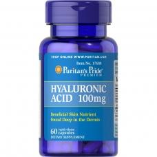 Puritans Pride Hyaluronic Acid 100 mg 120cap