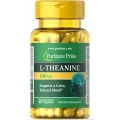 Puritans Pride L-Theanine 200 mg per serving 30 Capsules