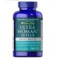 Puritans Pride Ultra Woman™ 50 Plus Multi-Vitamin with Zinc 120 Coated Caplets