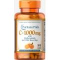 Puritans Pride Vitamin C-1000 mg with Bioflavonoids 100cap