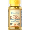 Puritans Pride Vitamin E-400 iu Natural - 100 soft gel
