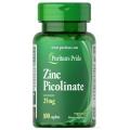 Puritans Pride Zinc Picolinate 25 mg 100 Cap