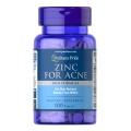 Puritans Pride Zinc for Acne 100 Tablets