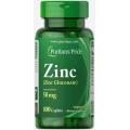 Puritans Pride Zinc 50 mg 100 Caplets