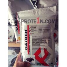 Гейнер базовый, разработка вкусов от prote1n.com, дой-пак 2000 грамм
