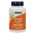 NOW Omega 3-6-9 1000MG 100 soft