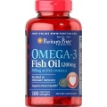 Puritans Pride Omega-3 Fish Oil 1200 mg (360 mg Active Omega-3) 100 Softgels