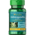 Puritans Pride Ashwagandha Standardized Extract 300mg 50 Capsules