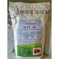 Сывороточный протеин WPC 80% Milkiland Ostrowia, разработка вкусовов от prote1n.com, дой-пак 1000 грамм