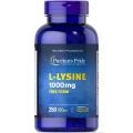 Puritans Pride L-Lysine 1000 mg 250 Caplets
