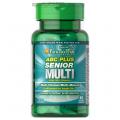 Puritans Pride ABC Plus® Senior Multivitamin Multi-Mineral Formula with Zinc 60 capl